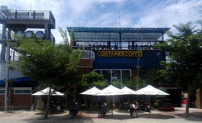 thiết kế Container làm quán cafe