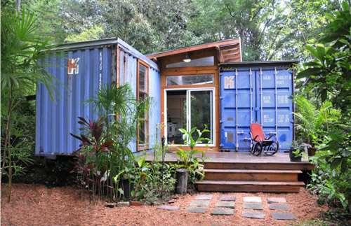 Nhà làm từ container siêu đẹp, tiết kiệm