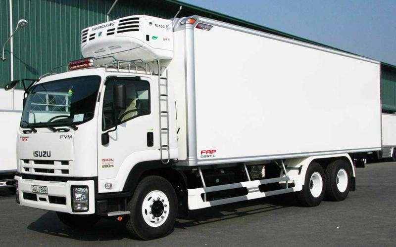 Container lạnh sử dụng nhiều trong vận chuyển đồ đông lạnh