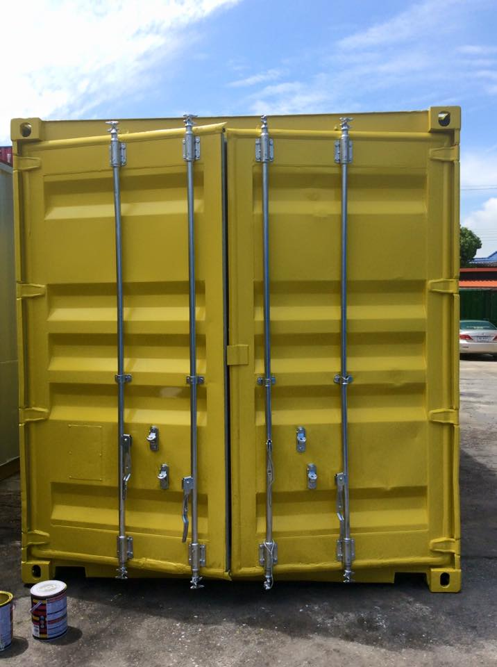 thùng container cũ