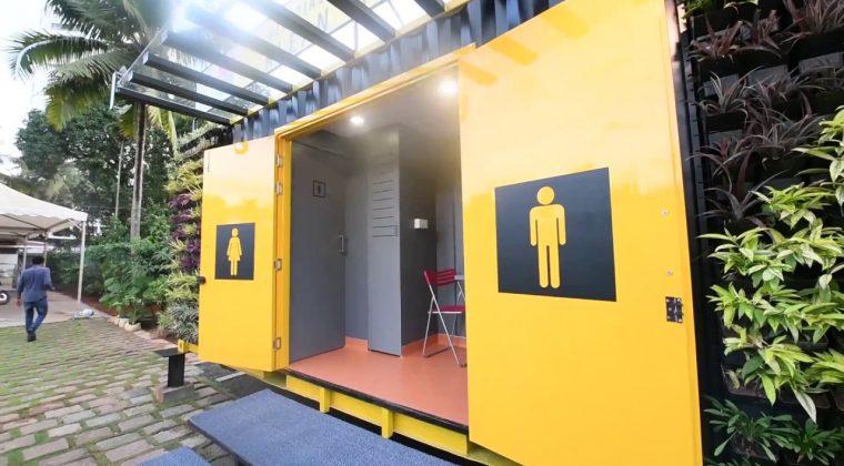 Nhà vệ sinh di động từ Container