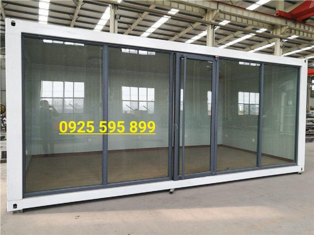 Nhà Panel EPS và tường Kính khung Container
