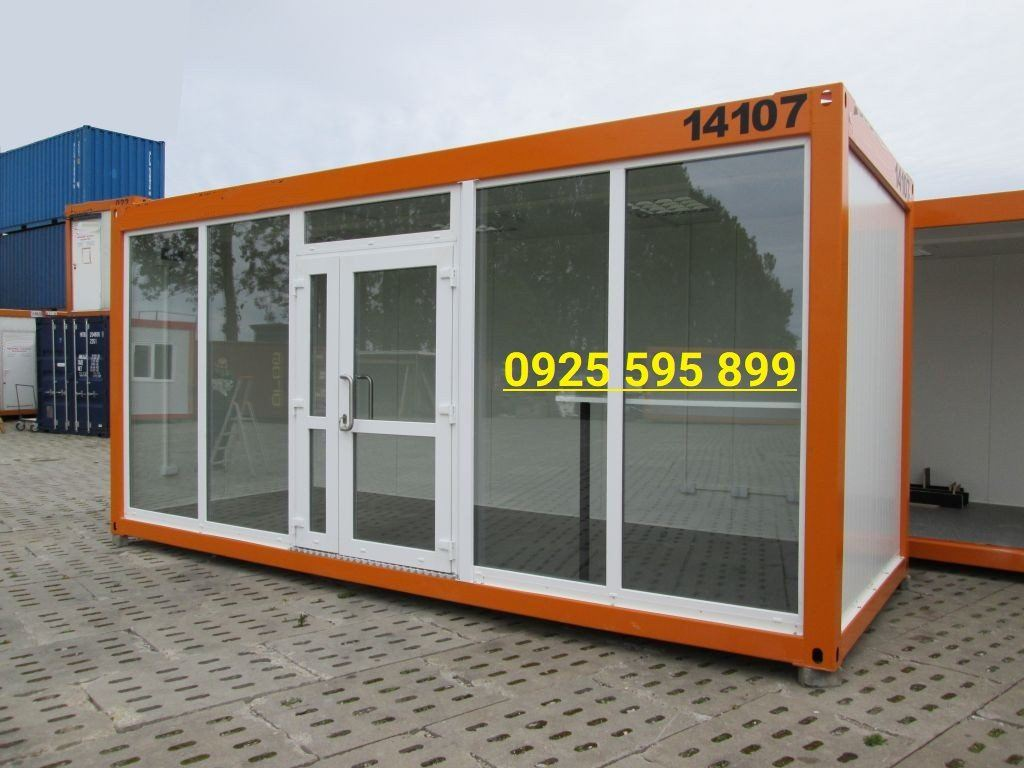 Panel Glass Container House