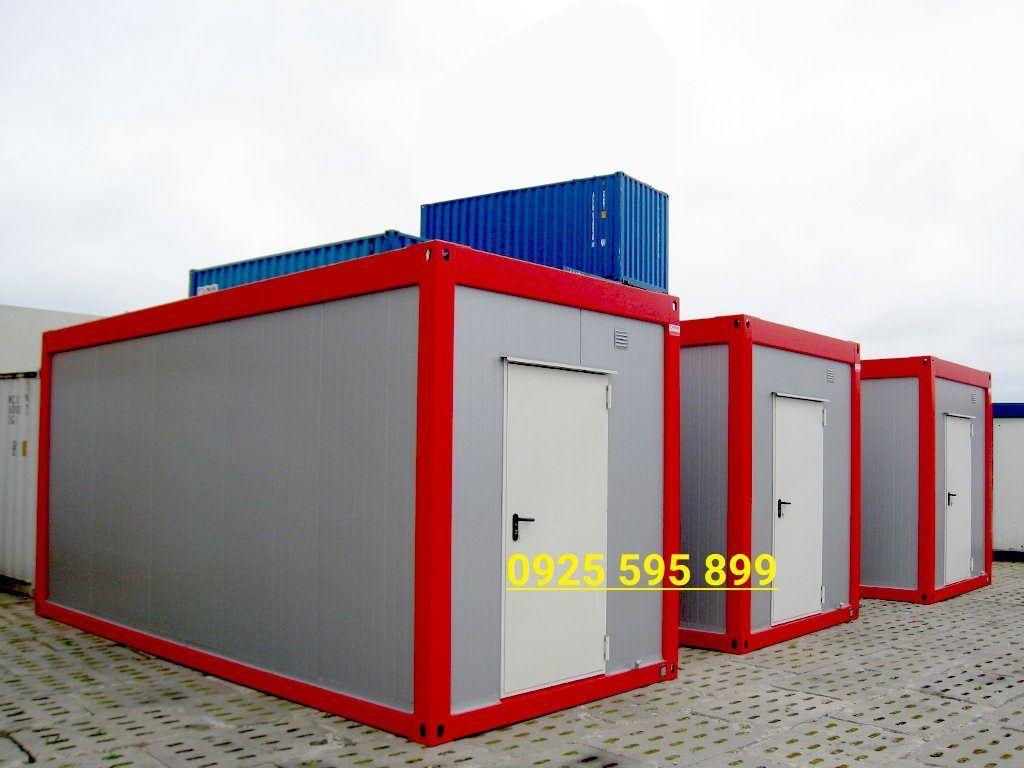 Nhà lắp ghép panel container không cửa sổ