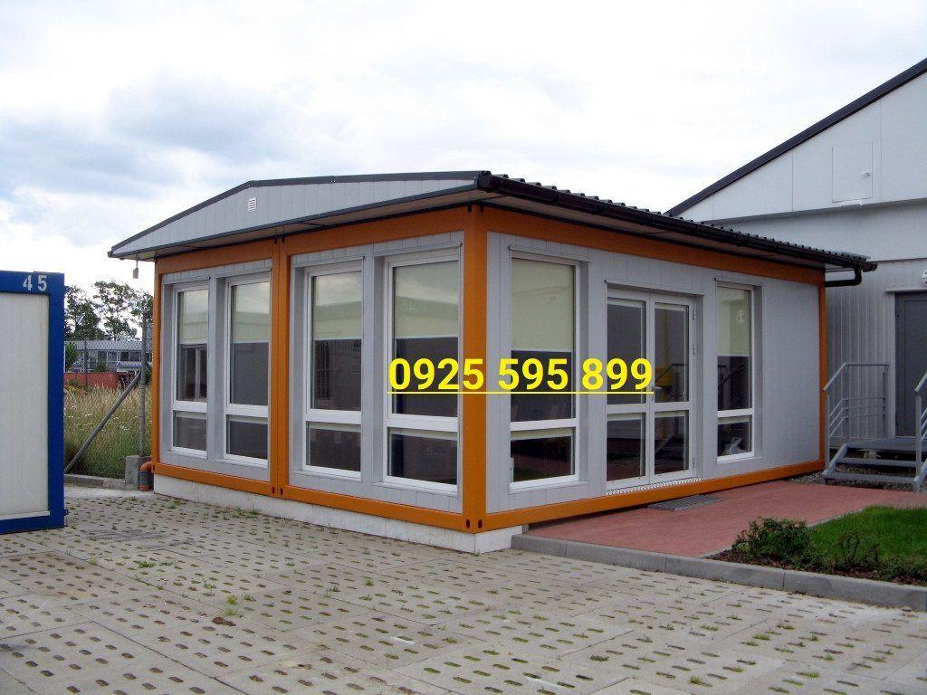 Nhà Panel khung container ghép