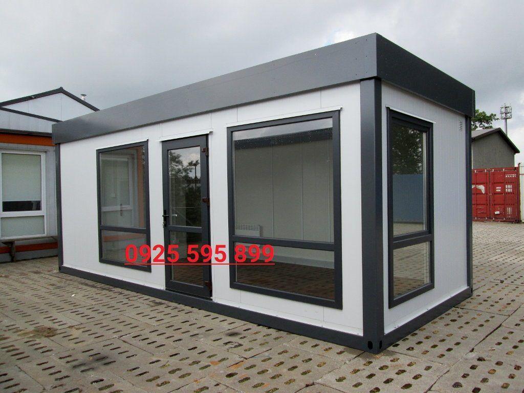 Nhà khung Container vách Panel EPS cửa kính