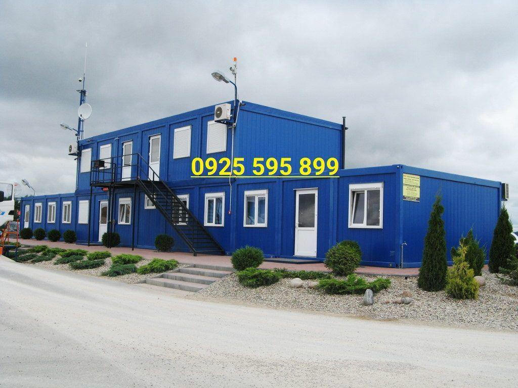 Nhà xưởng panel khung container ghép